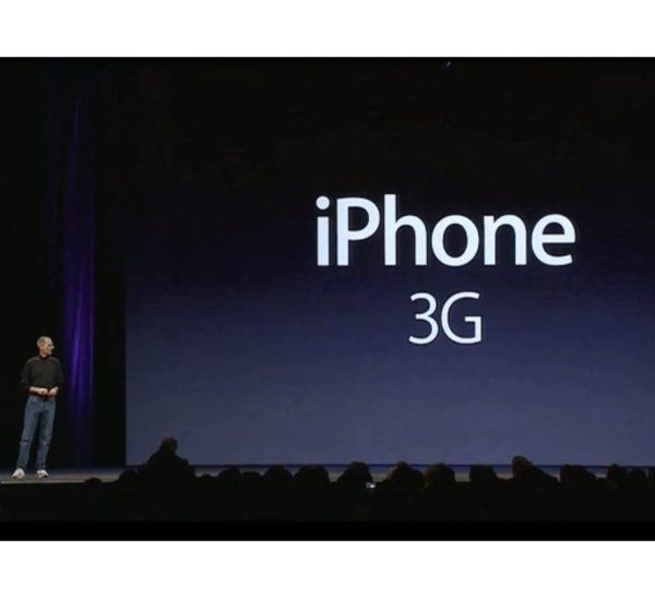 iphone 3g bill gates 600x548 - iPhone 3G - Full Phone Information, Tech Specs
