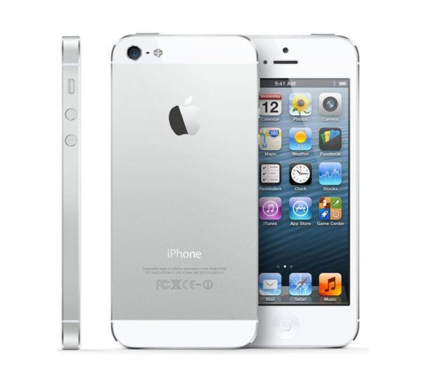 iphone 5 white 600x548 - iPhone 5 - Full Phone Information, Tech Specs