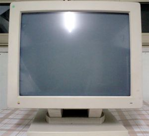 Apple Macintosh Two-Page Monochrome Display