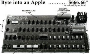 byte into apple 300x180 - Apple I Computer Introductory Advertisement
