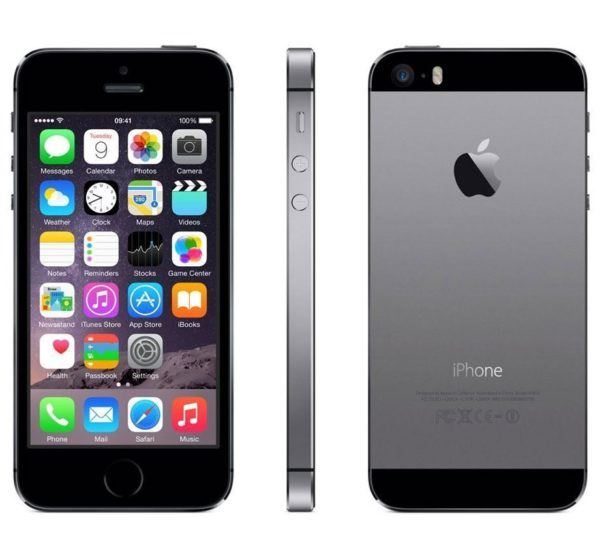 iphone 5s space gray 600x548 - iPhone 5s - Full Phone Information, Tech Specs