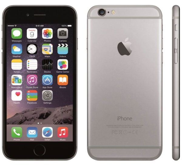 iphone 6 plus silver 600x548 - iPhone 6 Plus - Full Phone Information, Tech Specs