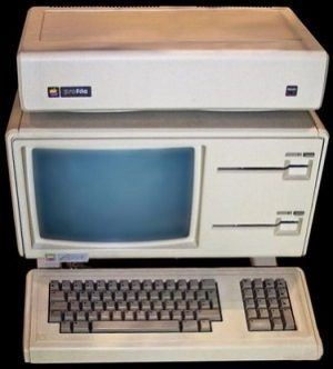 Lisa first Computer Apple Lisa