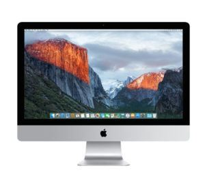 iMac (27-inch Retina 5K, 3.2GHz Intel Core i5, Late 2015)
