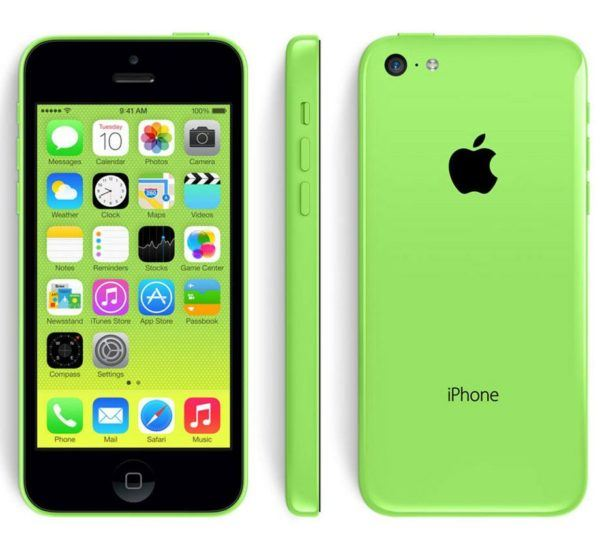iphone 5c green 600x548 - iPhone 5c - Full Phone Information, Tech Specs