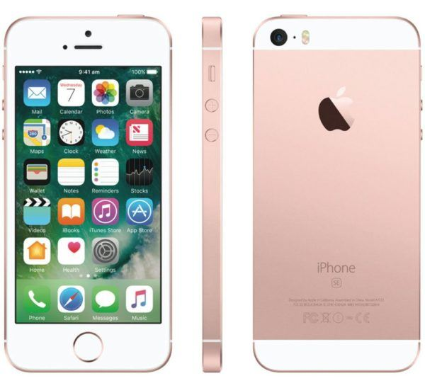 iphone se rose gold 600x548 - iPhone SE - Full Phone Information, Tech Specs