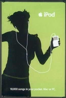 first ipod poster