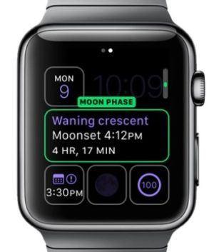 Moon Complication Apple's Handoff