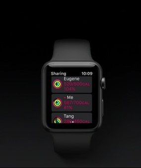 Apple Watch messages