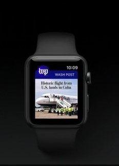 apple watch post App Store