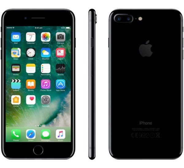 iphone 7 plus jet black 600x548 - iPhone 7 Plus - Full Phone Information, Tech Specs