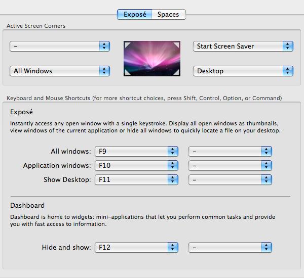 mac basics expose settings - Mac Basics Tutorial: Spaces, Exposé, Quick Look