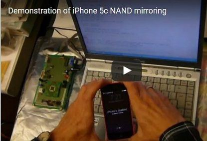 "nand mirroring - FBI and Apple: ""Bumpy Road"" to Success"