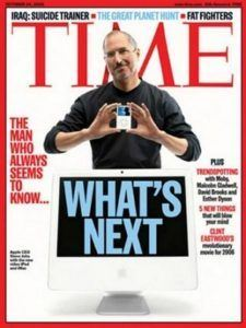 Time, october 2005, Steve Jobs Apple CEO