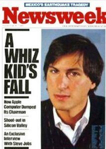 Fall of Steve Jobs in 1985