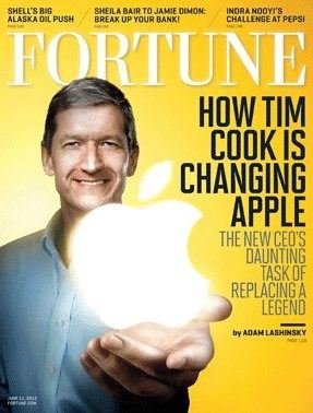 fortune tim cook - History of Apple 2012 - The Most Significant Events