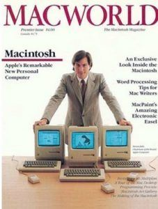 macworld 1984 227x300 - Apple Magazine Covers
