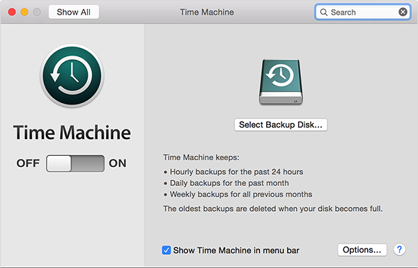 How to Set Up Time Machine