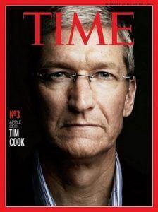 tim cook 224x300 - Apple Magazine Covers