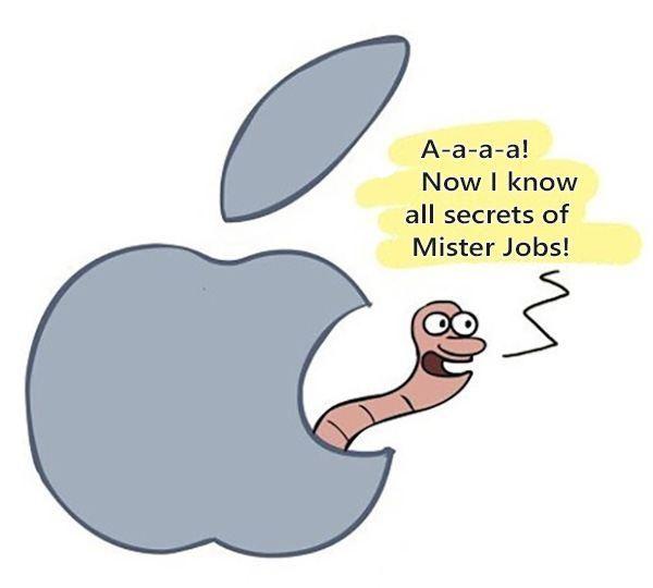 jobs secrets 600x540 - Hilarious Apple Jokes