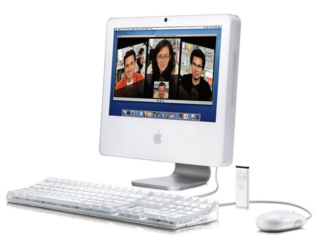 The iMac Intel (iMac Plastic) also placed the components behind the display.