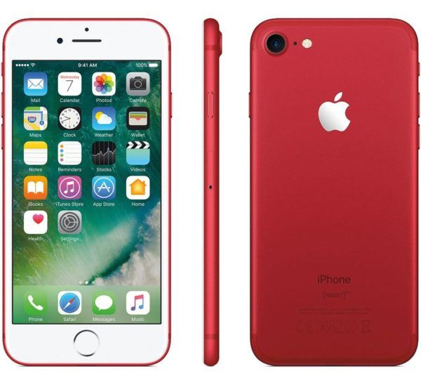 iphone 7 red all 600x548 - iPhone 7 (PRODUCT) RED - Full Phone Information, Tech Specs