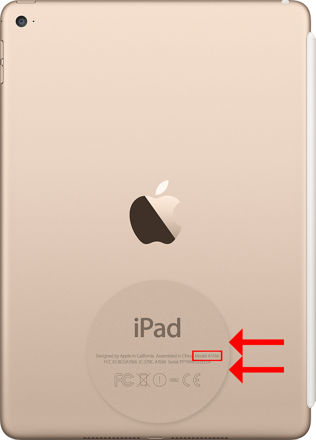apple ipad serial number check spec