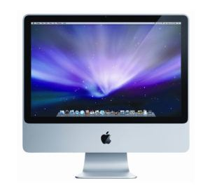 imac 24 inch early 2008 1 300x274 - How to Identify Your iMac