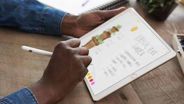 ipad pro 2017 pencil 600x338 - iPad Pro (2017) - Full Tablet Information