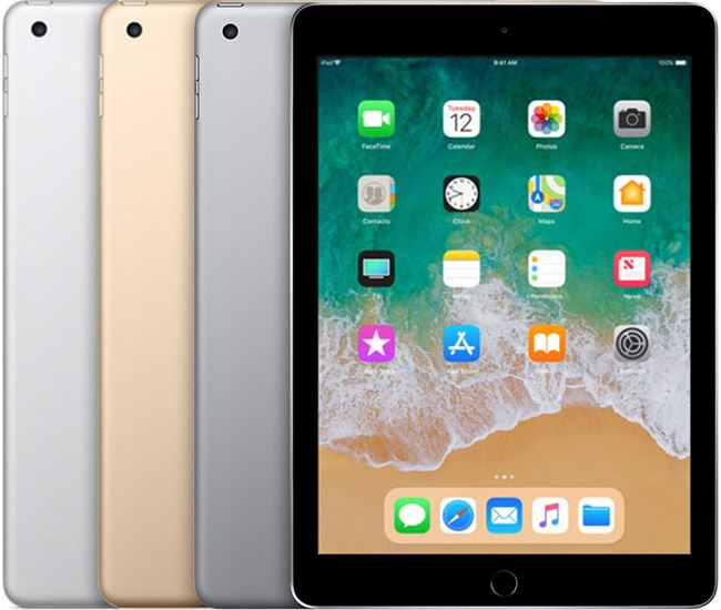 iPad 5th Generation (2017) Wi-Fi+Cellular and Wi-Fi Only