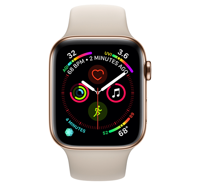 Apple Watch Series 4: Beautifully redesigned with breakthrough communication, fitness and health capabilities