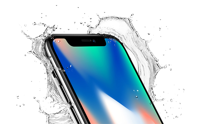iPhone X is as elegant as it is durable while maintaining water and dust resistance.