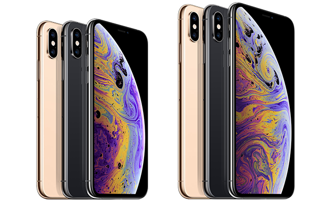 The iPhone XS Max comes in three colors: Gold, Silver and Space Gray