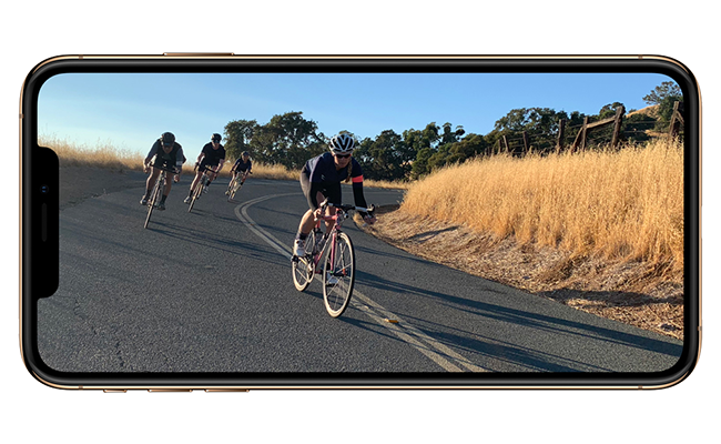 iPhone XS and iPhone XS Max shoot the highest‑quality video of any smartphone with better low-light performance and extended dynamic range