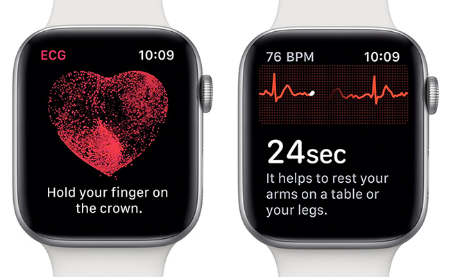 The Apple ECG app and irregular rhythm notification on Apple Watch are available today across Hong Kong and 19 European countries.