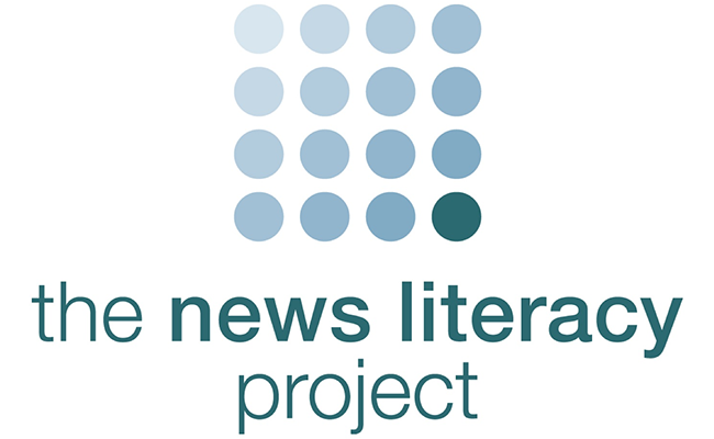 Apple teams with nonprofit organization News Literacy Project.
