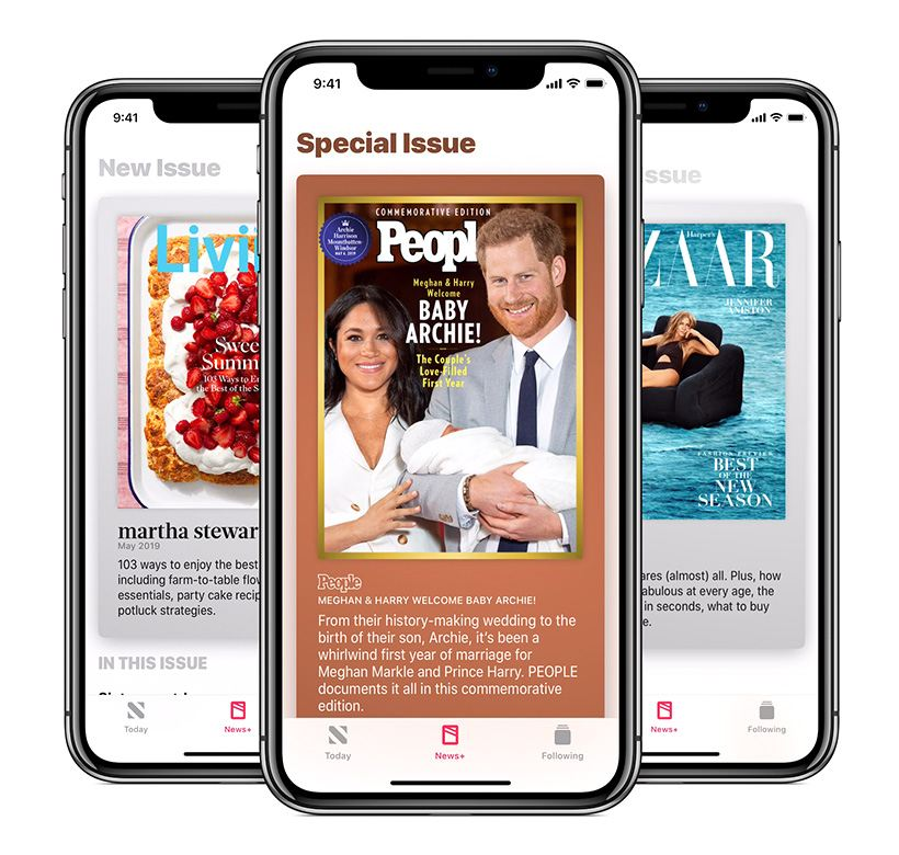 Apple News+ adds more exclusive covers and storytelling.