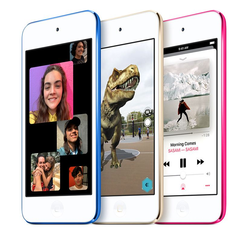 Apple introduces the new iPod touch.