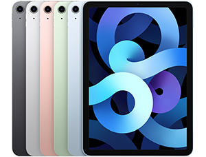 ipad air 4 2020 300x228 1 - Apple iPad - Full information, models, tech specs and more