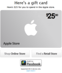 Apple Store Gift Cards: Make Present For Your Friends