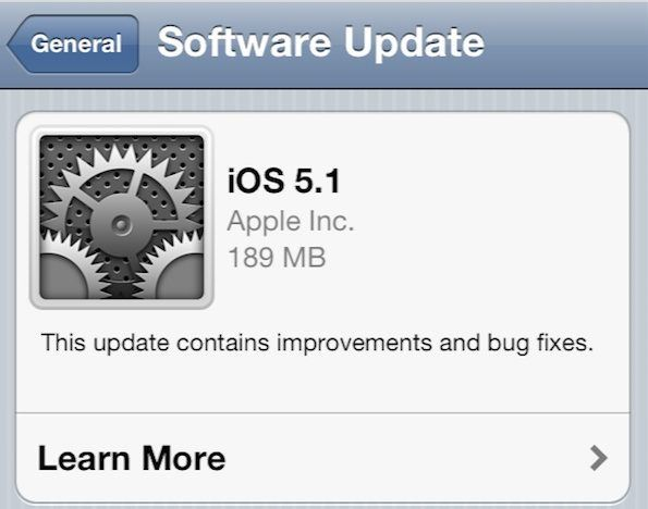 Update the iOS software on your iPhone, iPad or iPod touch