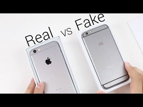 How to spot fake iPhone