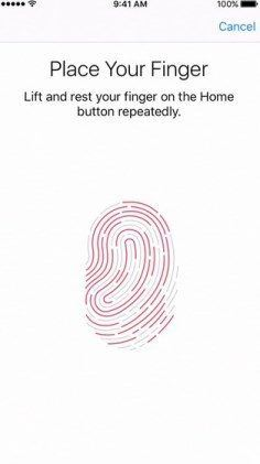 Touch ID: How To Use It