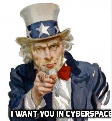 Uncle Sam Wants You in Cyberspace