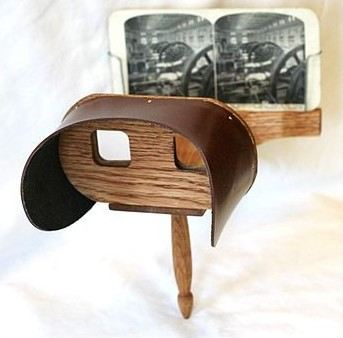 stereoscope Holmes vr glasses