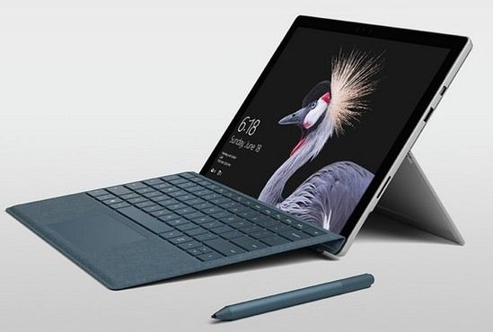 windows surface pro 2017