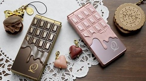 japanese chocolate phones - Japanese Mobile Phones