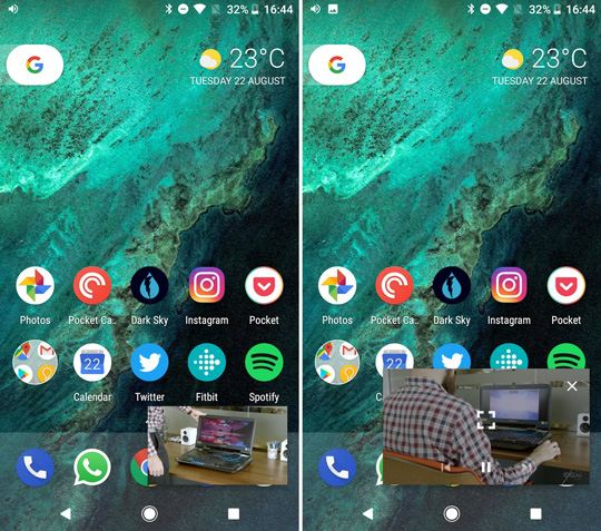 Android O Picture-in-Picture