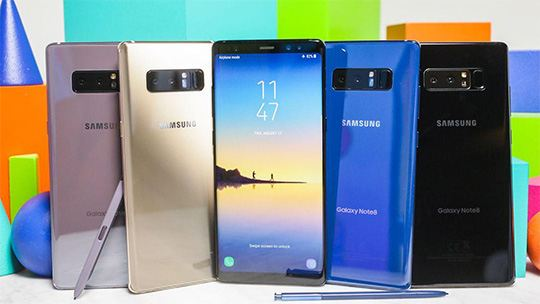 samsung galaxy note 8 all colors - Samsung Galaxy Note 8 Hands-On