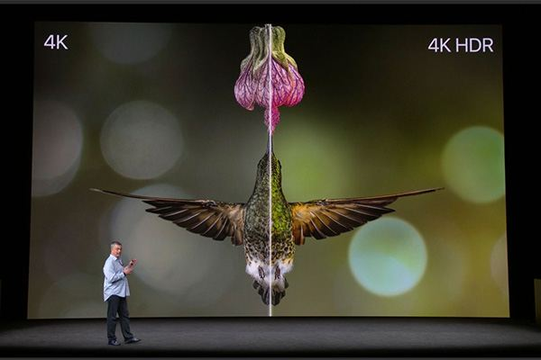 Apple Event September 12, 2017 - Apple TV 4K HDR